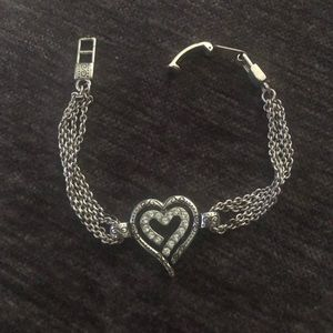 Brighton heart shape bracelet